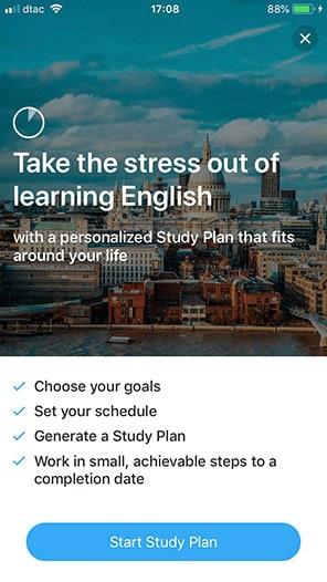 เลือกเป้าหมายการเรียนภาษาอังกฤษ