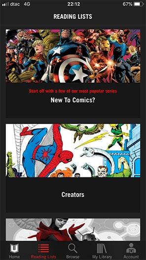 เริ่มอ่าน marvel unlimited