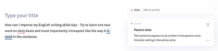 Grammarly - ตรวจสอบงานเขียนให้อ่านง่าย